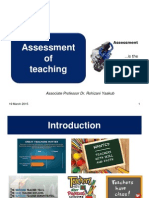 1. Lecture 7 - Assessment