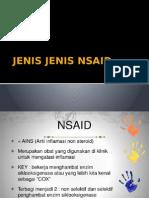 JENIS JENIS NSAID