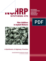 Fiber Additives in Asphalt Mixtures