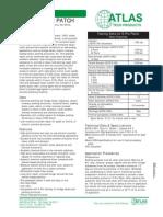 Atlas E-pro Patch PDS