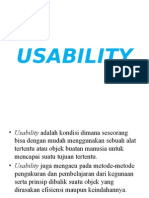 7. Usability Testing, Mental Model, HAC