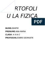 Portofoliu La Fizica 1