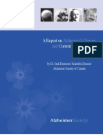 A Report on Alzheimer's Disease and Current Research