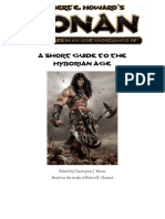 The Age of Conan -  A Short Guide to the Hyborian Age