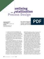 Crystallization Process Design