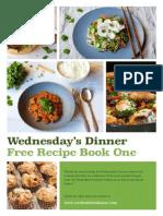 WednesdaysDinner.com Free Recipe Book One