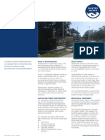 Wastewater Treatment Fact Sheet