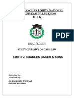 smith v. charls bekar case