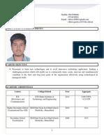 Dhruv Patel Application Resume
