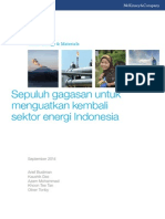 Ten Ideas to Reshape Indonesias Energy Sector Bahasa