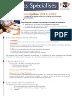 Fiche Tarifaire-2015 2016 0
