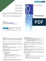 Pre-Eclampsia 2010 (Green) 6cents Per Copy