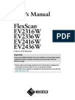 Eizo Flexscan Manual