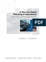 A Plan for Global Warming Preparedness