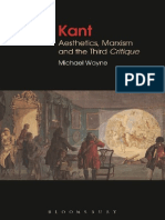 Michael Wayne Red Kant Aesthetics Marxism and the Third Critique