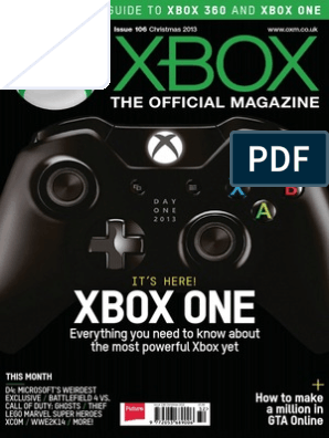 Xbox  the Official Magazine UK - Christmas 2013 | Porting