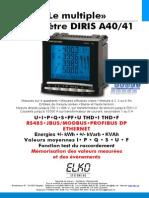 Prospekt Diris A40 Franzoesisch