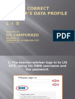 How to Correct Learner Data in LIS