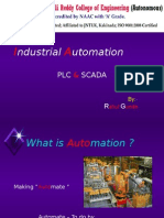 Industrial Automation by Rahul Gunde (LBRCE-MYM)