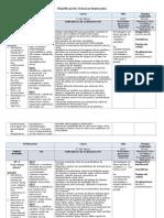 Primero Planificación 2015 Ciencias Naturales