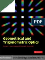 Geometrical and Trigonometrical Optics