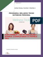 Wellness Tricks - Notebook Personal Saptamana 4