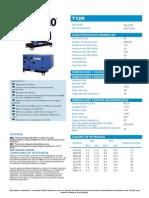 Ficha Técnica Generador T12K