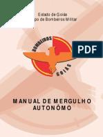 Mergulho Autonômo - Histórico