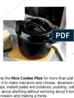 Pampered Chef Rice Cooker Plus Recipes