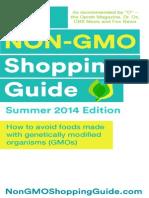 Non GMO Shoppers Guide