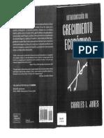 Jones - Introduccion Al Crecimiento Económico (capitulo 1)