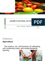 Agricultural Econ 2A