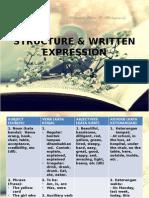 1 STRUCTURE & WRITTEN EXPRESSION.pptx