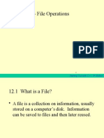 File and Functions