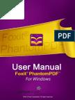 FoxitPhantomPDF51 Manual