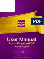 FoxitPhantomPDF51 Manual