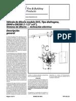Válvula de Diluvio DV5, Tipo Diafragma Activación Eléctrica