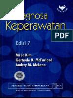 Buku Pedoman Diagnosa Keperawatan