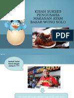 Ayam Bakar Wong Solo Presentasi