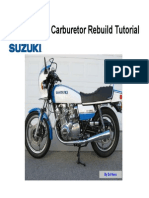 Mikuni BS CV Carburetor Rebuild Tutorial