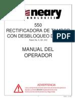 Manual Usuario Torno 550