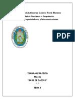 Bases de Datos II -Ubaldo Pereira