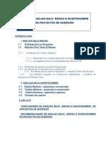 Capitulo Ix_análisis Bajo Riesgo e Incertidumbre en Proyectos de Inversión