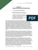 Aspects Course 1 Lesson 11