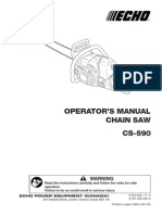 Echo Cs 590 Owners Manual