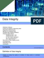 Presentation on Data Integrity in Pharma