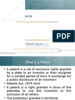 Basics of Patents