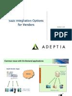 SaaS Integration for Vendors