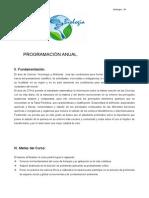 Programa Anual Tercero Biol