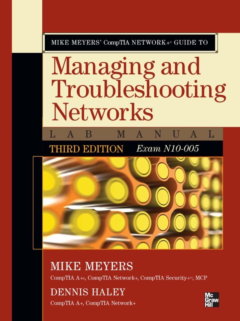 Mike Meyers CompTIA Network+ Lab Manual pdf | Comp Tia